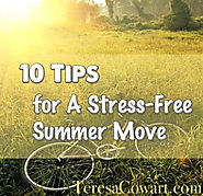 10 Tips For a Stress Free Summer Move