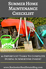 Summer Home Maintenance Tasks That Must Be Done!