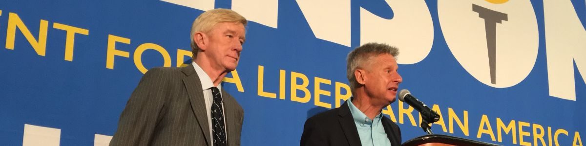 Headline for Libertarian GovTicket - Gov. Gary Johnson and Gov. Bill Weld