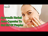 Ayurvedic Herbal Acne Capsules To Get Rid Of Pimples