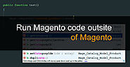 How to run Custom Script code outside of Magento 2