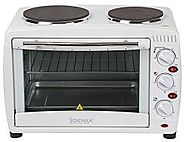IGENIX IG7126 MINI OVEN AND GRILL WITH DOUBLE HOTPLATES 26 L – 220 VOLTS NOT FOR USA