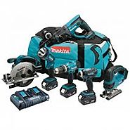 MAKITA DLX6017PM CORDLESS LI-ION KIT (6-PIECE) 220 VOLTS 50 HZ NOT FOR USA
