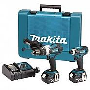 MAKITA DK18000 18V LXT LITHIUM-ION CORDLESS KIT WITH 2 X BATTERIES (2 PIECES)220 VOLTS 50 HZ NOT FOR USA