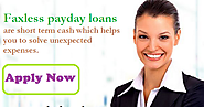 Faxless Payday Loans – Short Term Cash Without Any Faxing Needs