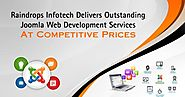 Raindrops Infotech Delivers Outstanding Joomla Web Development Services At Competitive Prices