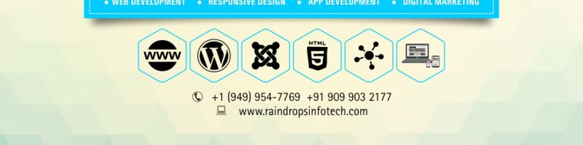 Headline for Raindrops Info Tech