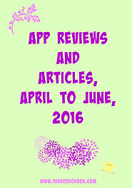 April to June 2016 iPad App Reviews