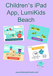 Children's iPad App, LumiKids Beach