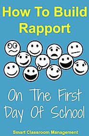 How To Build Rapport On The First Day Of School