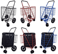 Best Heavy Duty Folding Shopping and Grocery Carts on Wheels- Reviews