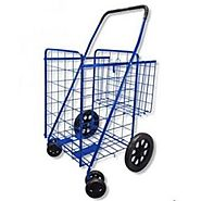 Best Rated Heavy Duty Folding Shopping Cart with Wheels - Reviews.