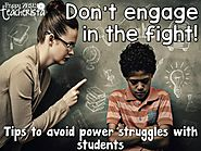 Avoiding Power Struggles with Students