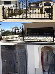 wrought iron fences perth