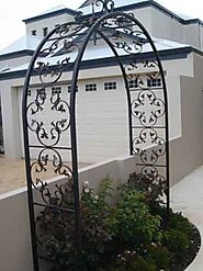 Variety and Designs in Wrought Iron Doors at Wroughtironfactory
