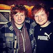 Ed Sheeran doppleganger Ty Jones