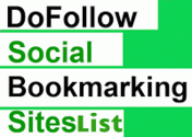 25 Best DOFOLLOW social bookmarking sites list for SEO