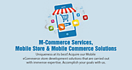 Not using the power of Mobile Commerce yet? Here's how we can help!