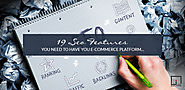 19 SEO Features You Need on Your eCommerce Platform