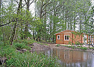 Peckmoor Farm Lodges Near Crewkerne in Dorset. A stylish lodge retreat with a choice of accommodation to sleep two to...