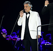 Andrea Bocelli returned to UK and Ireland