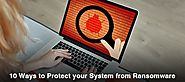 10 Ways to Protect your System from Hacker's Attack