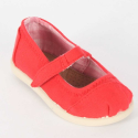 Toms for Babies - Tiny Red Canvas Mary Janes