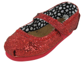 TOMS Infants TOMS TINY MARY JANE GLITTERS CASUAL SHOES