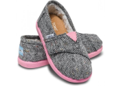 Toms - Tiny Silver Karsen Classics for Babies