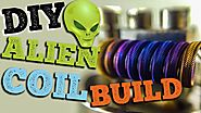 DIY Alien Clapton Coil Build | Tutorial