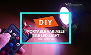 $50 Portable DIY Continuous Lighting for Photography - X-Light Photography