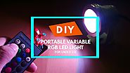 $50 Portable DIY Continuous Lighting for Photography