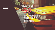 30 High Quality One-page Wordpress Themes On A Budget