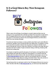 Buy Real Instagram Followers UK