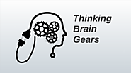 Thinking Brain Gears Animated
