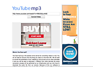 Download YouTube videos & save them as MP3 files