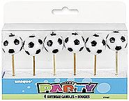 Soccer Birthday Candles