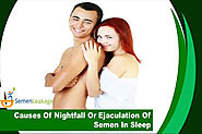 Causes Of Nightfall Or Ejaculation Of Semen In Sleep