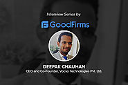 A Glimpse of an Interview with Deepak Chauhan, CEO and Co-Founder of VOCSO Technologies
