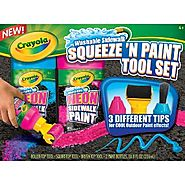 Crayola Chalk Press 'n Paint Tool