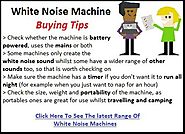 Best White Noise Machine For Sleeping Reviews - Tackk