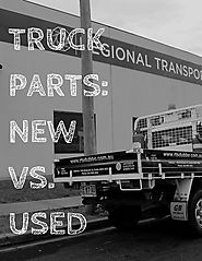 Truck parts new vs used