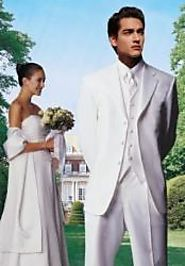 Get An Elegant Look White Tuxedo Jacket At MensItaly