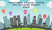 Importance of Local Listing 2016