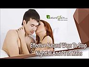 Effective Natural Ways To Stop Nightfall And PE In Males
