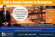 Bail & Bonds Lawyer In Brampton