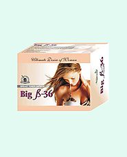 Ayurvedic Herbal Breast Enhancement Products Pills, Big B-36