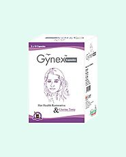 Herbal Treatment For Leucorrhoea White Discharge, Gynex Capsules