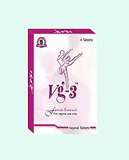 Ayurvedic Herbal Treatment for Loose Vagina, Vg-3 Tablets