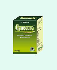 Herbal Treatment for Menstrual Disorders, Gynecure Capsules